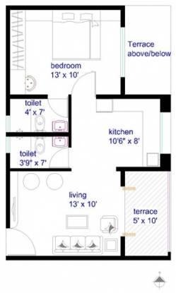 Jagtap Nano Spaces (1BHK+2T (565 sq ft) Apartment 565 sq ft)