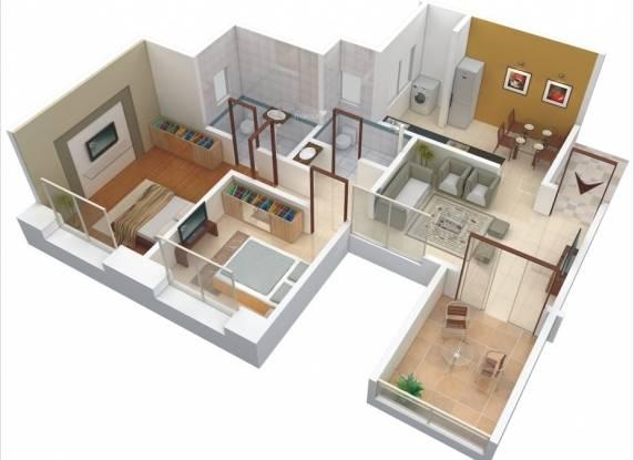 GK Atlanta (2BHK+2T (928 sq ft) Apartment 928 sq ft)