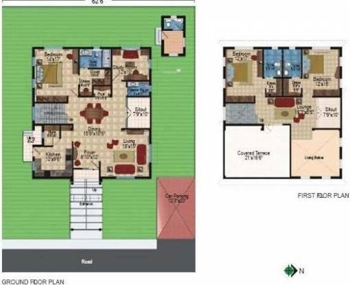 Prajay Celebrity Villas (3BHK+3T (3,700 sq ft) Villa 3700 sq ft)