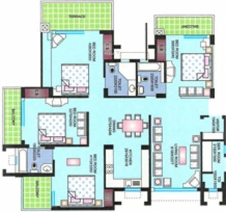 Reputed Shivani Apartment (4BHK+4T (2,400 sq ft) Apartment 2400 sq ft)