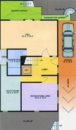 Ardee Palm Grove Villas (5BHK+5T (5,300 sq ft)   Servant Room Villa 5300 sq ft)