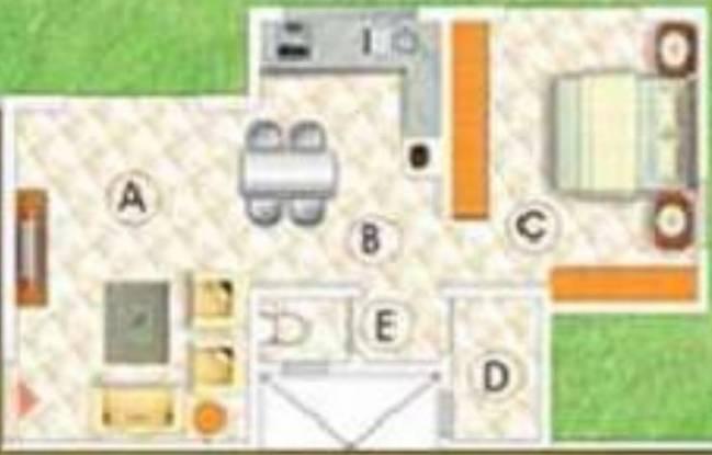 Shroff Shagun (1BHK+1T (537 sq ft) Apartment 537 sq ft)