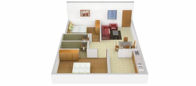 Antony Mon Reve (2BHK+2T (902 sq ft) Apartment 902 sq ft)