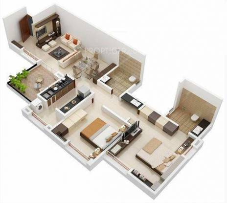 PGM Zenistry (2BHK+2T (1,146 sq ft) Apartment 1146 sq ft)