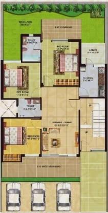 Omaxe Swarnaprastha (3BHK+3T (1,620 sq ft) Apartment 1620 sq ft)