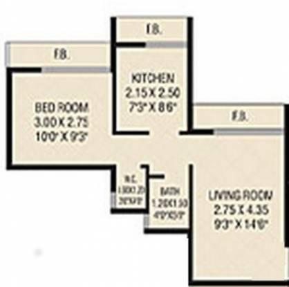 Today Ganesham (1BHK+1T (650 sq ft) Apartment 650 sq ft)