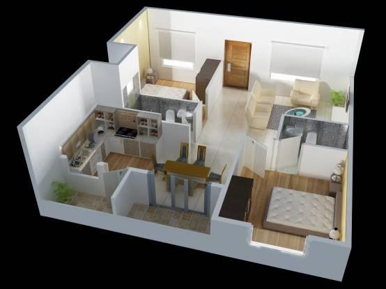 DS Seasons (2BHK+2T (1,120 sq ft) Apartment 1120 sq ft)