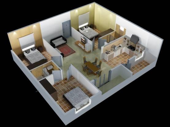 DS Seasons (3BHK+2T (1,300 sq ft) Apartment 1300 sq ft)