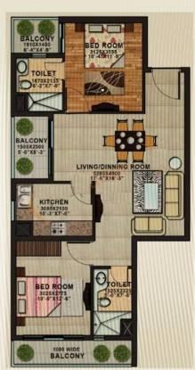 APS Shilpayan K7 (2BHK+2T (1,190 sq ft) Apartment 1190 sq ft)