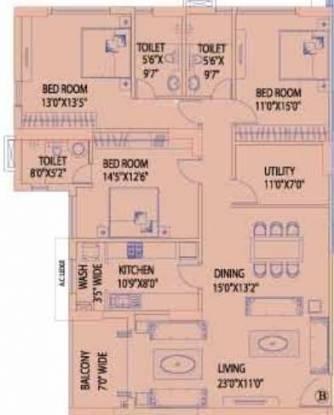 Mani Kala (3BHK+3T (2,252 sq ft) Apartment 2252 sq ft)