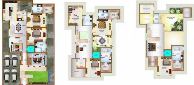 Vardhman Gomes Defence Bungalow (7BHK+7T (10,500 sq ft) + Servant Room Villa 10500 sq ft)