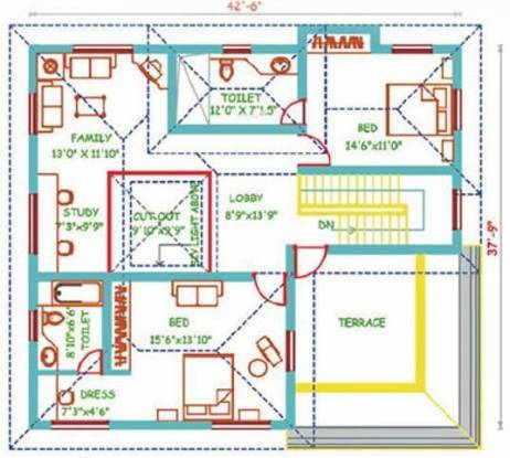 Shree Egret Park (3BHK+4T (3,319 sq ft)   Study Room Villa 3319 sq ft)