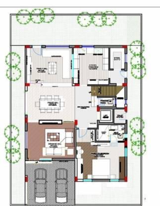 Kanishka Cyber Meadows Society (4BHK+4T (4,000 sq ft) Villa 4000 sq ft)