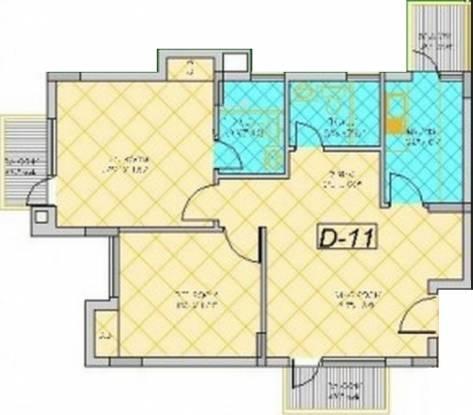 Shiv Park 1 Apartments (2BHK+2T (1,130 sq ft) Apartment 1130 sq ft)