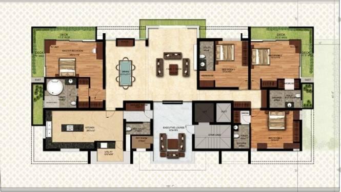 Baashyaam Petals (4BHK+4T (3,460 sq ft) Apartment 3460 sq ft)