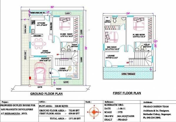 Praneeth Greenfield (3BHK+3T (1,371 sq ft) Villa 1371 sq ft)