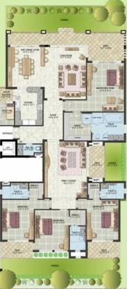 Jaypee Augusta Town Home (4BHK+4T (4,400 sq ft) Apartment 4400 sq ft)