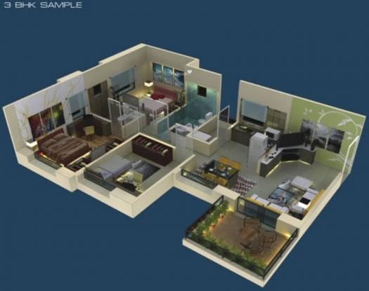 Ratan Prestige (3BHK+3T (1,174 sq ft) Apartment 1174 sq ft)
