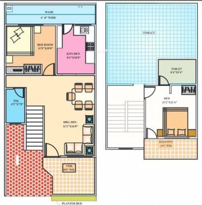 Pumarth Meadows (2BHK+2T (1,138 sq ft) Villa 1138 sq ft)