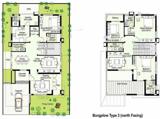 Hill County Hill County Villa (4BHK+4T (2,700 sq ft) Villa 2700 sq ft)