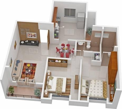 Namrata Royal (2BHK+2T (920 sq ft) Apartment 920 sq ft)