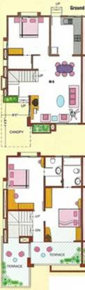 Pharande Culture Crest (3BHK+3T (2,550 sq ft) Villa 2550 sq ft)