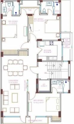 Home Gulmohar Park (3BHK+3T (2,700 sq ft) Apartment 2700 sq ft)