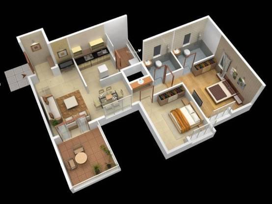 Yash Sherlyn Regency (2BHK+2T (1,080 sq ft) Apartment 1080 sq ft)