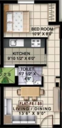 Deva Shre Homes (1BHK+1T (485 sq ft) Apartment 485 sq ft)