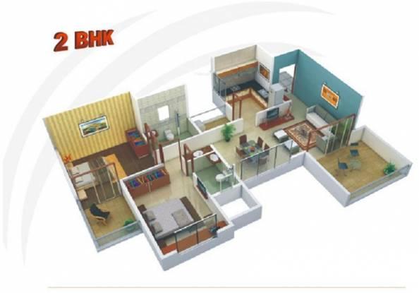 Chandrarang Wisdom Park (2BHK+2T (1,100 sq ft) Apartment 1100 sq ft)