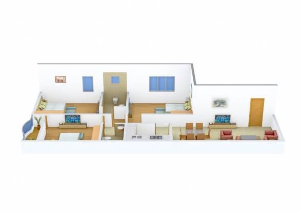 Natural Haldiram Enclave (3BHK+3T (1,353 sq ft) Apartment 1353 sq ft)