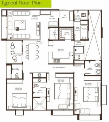 Sambhav Stavan Alteza (3BHK+3T (2,403 sq ft) + Servant Room Apartment 2403 sq ft)