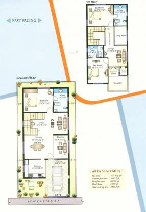 Sri Bhavana Maa Villas (3BHK+3T (2,460 sq ft)   Pooja Room Villa 2460 sq ft)