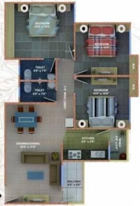 Fortune Soumya Heritage (3BHK+3T (1,250 sq ft) Apartment 1250 sq ft)