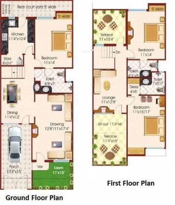 Fortune Pride Extension (3BHK+3T (2,000 sq ft) Villa 2000 sq ft)