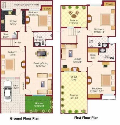 Fortune Pride Extension (4BHK+4T (2,500 sq ft) Villa 2500 sq ft)