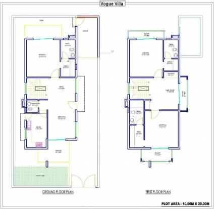 Dhoot Vistara Villa (3BHK+3T (2,300 sq ft) Villa 2300 sq ft)