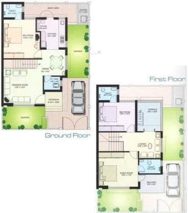 Galaxy Vraj Residency (3BHK+4T (810 sq ft) Villa 810 sq ft)
