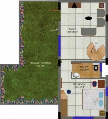Sakshi Mansion (3BHK+3T (2,066 sq ft) Apartment 2066 sq ft)