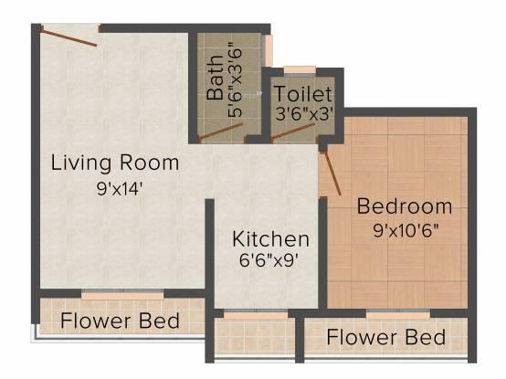 MAAD Yashvant Pride (1BHK+1T (540 sq ft) Apartment 540 sq ft)