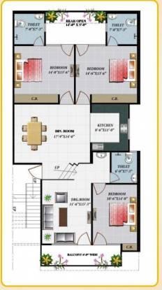 Apex Royal Castle (3BHK+3T (1,875 sq ft) Apartment 1875 sq ft)