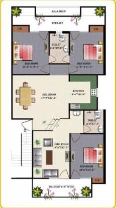 Apex Royal Castle (3BHK+2T (1,970 sq ft) Apartment 1970 sq ft)