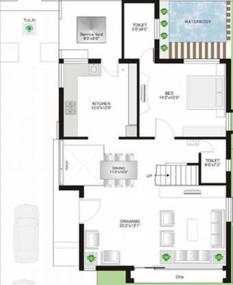 Sangath Saundrya Green (4BHK+4T (3,807 sq ft) Villa 3807 sq ft)