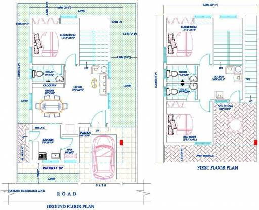 Praneeth Pranav Homes (3BHK+3T (1,539 sq ft)   Pooja Room Villa 1539 sq ft)