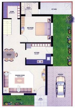 B Desai Anand Vihar Bungalows (3BHK+3T (1,890 sq ft) Villa 1890 sq ft)