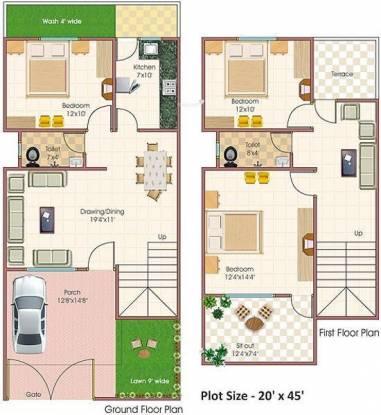 Abhinav Tirupati Abhinav Homes (3BHK+2T (900 sq ft) Villa 900 sq ft)
