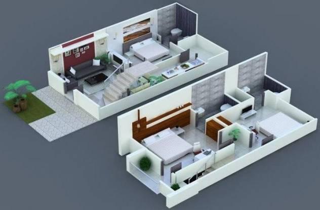 Om Ganpati Homes (3BHK+3T (1,220 sq ft) Villa 1220 sq ft)