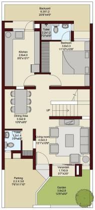 Ruchi Lifescapes Villa (3BHK+4T (1,956 sq ft) + Study Room Villa 1956 sq ft)