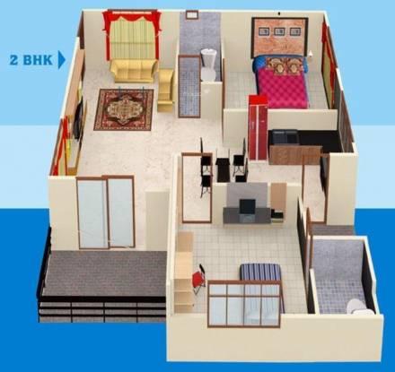 Gnext Sahil Siddhivinayak Tower (2BHK+2T (1,210 sq ft) Apartment 1210 sq ft)
