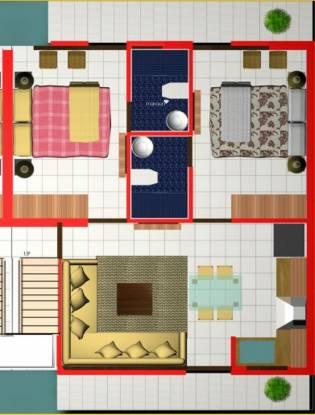 Dara The D Homes (2BHK+2T (820 sq ft) Apartment 820 sq ft)